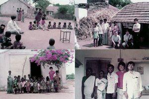 インドの村での写真